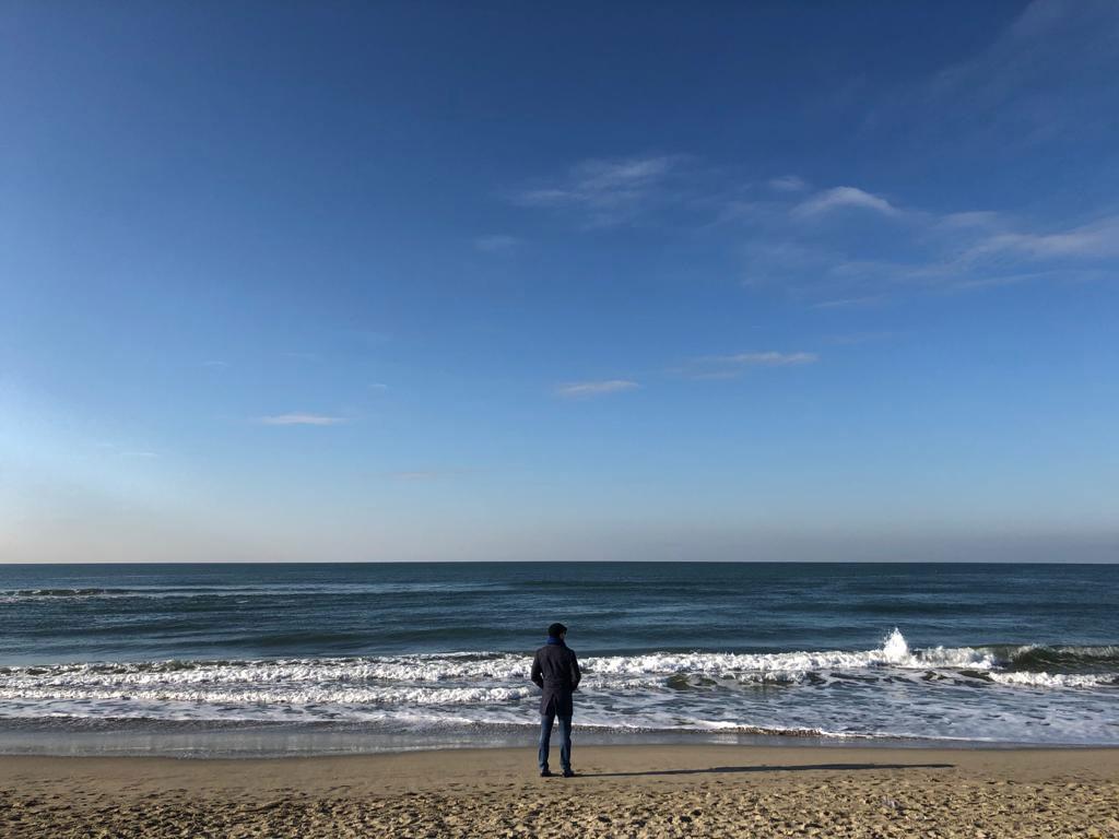 Viareggio Beach in Italy
