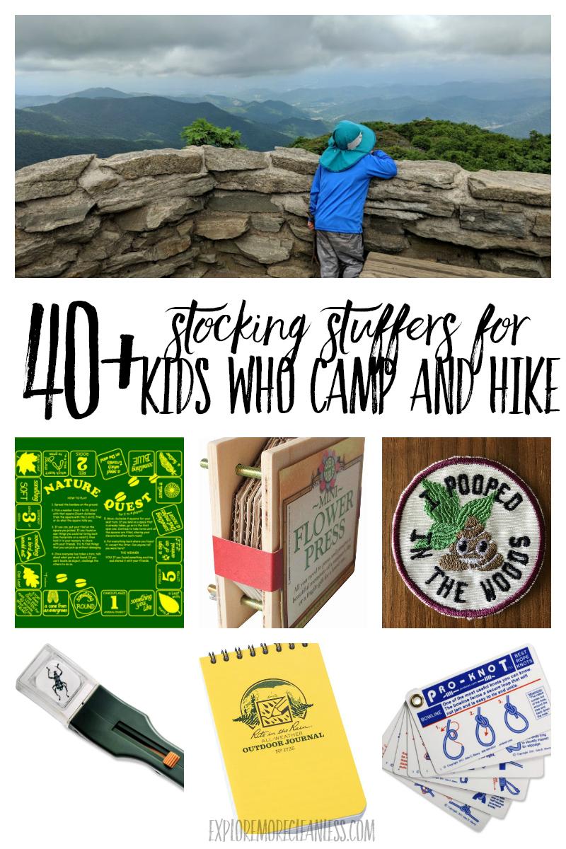 hiking stocking stuffers