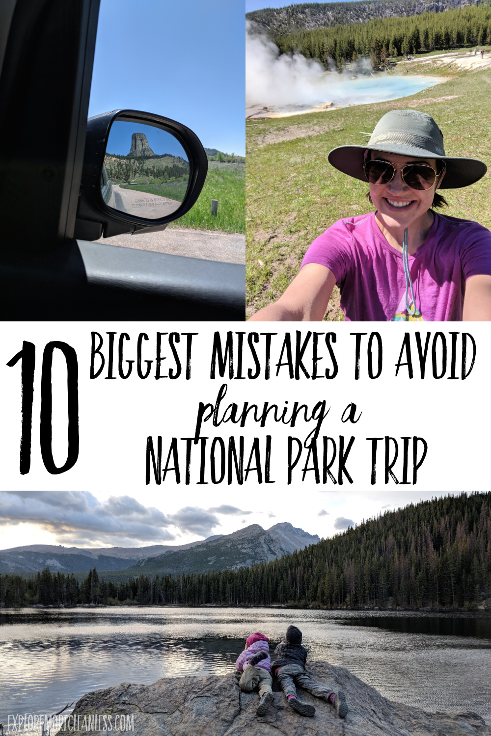 national park trip with kids planning tips