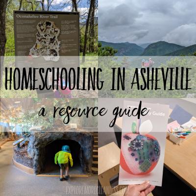 Asheville homeschool resource guide