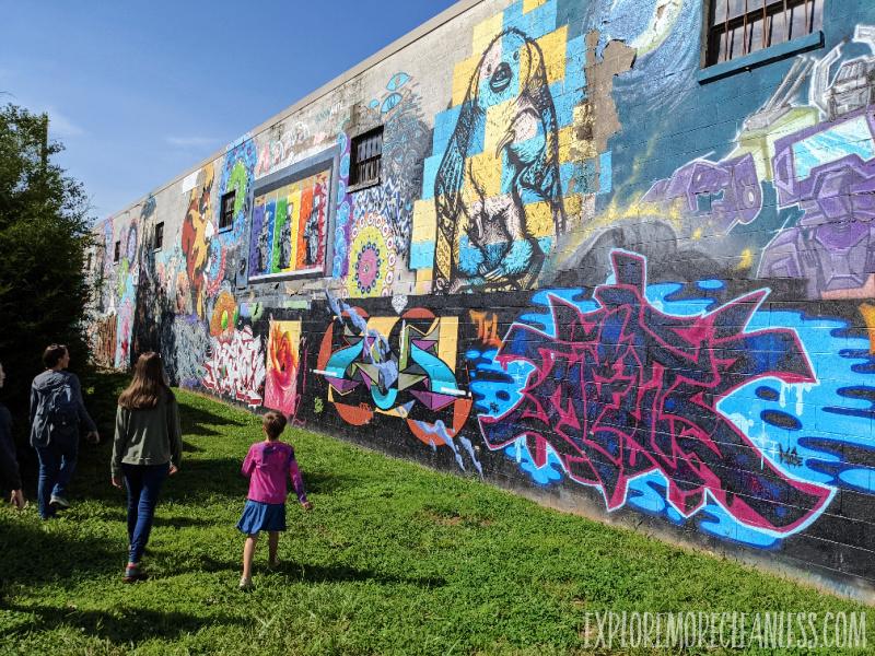 river arts district murals